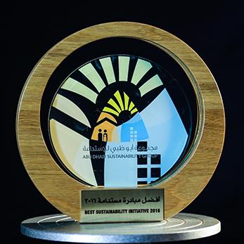 ABU DHABI SUSTAINABILITY AWARD – 2016