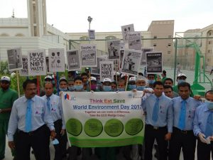 22.JIC Celebrating world environmental day-2013