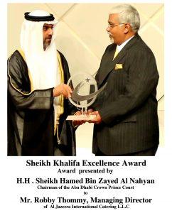 Sheikh Khalifa Excellence Award 2013