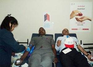 JIC conducts its 3th Blood Donation campaign on 26 June 2012