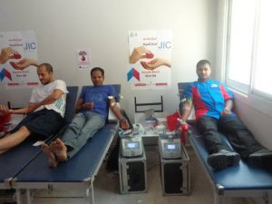 JIC conducts it's 7th Blood Donation campaign on 20 June 2014