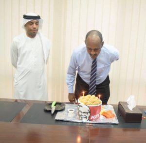 JIC Staff Birthday Celebration