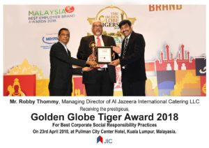 Golden Globe Tiger Awards for Best CSR Practices