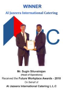 JIC Wins the Future Workplace Awards - 2018