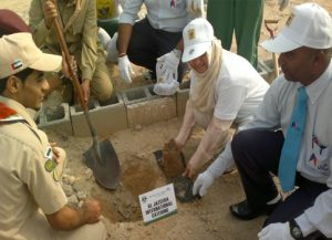 27.JIC participating in Clean Up UAE Campaign -2013