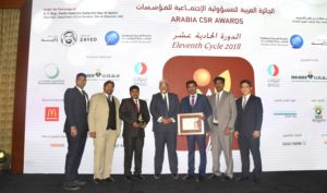 Arabia CSR Awards Eleventh Cycle 2018.